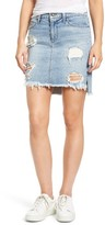 Joe's Jeans Women's High/low Denim Pencil Skirt