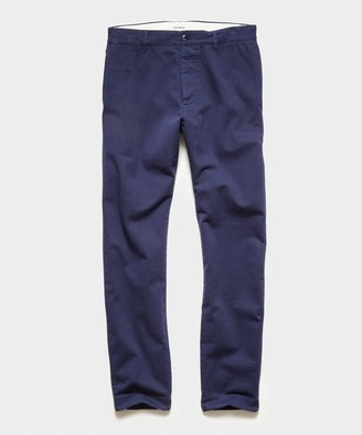 Todd Snyder Japanese Selvedge Chino in Navy