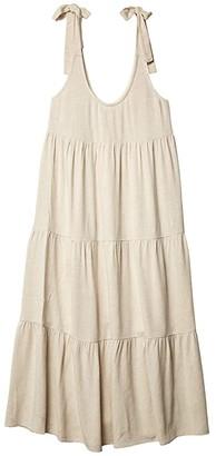 Rachel Pally Linen Adelaide Dress (Natural) Women's Clothing