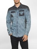 Calvin Klein Slim Fit Oil Slick Shirt