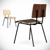 Pin It Gus Modern School Chair In Walnut
