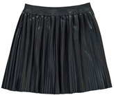 Finger In The Nose Amy Leather Effect Pleated Skirt