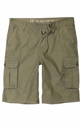 JP 1880 Men's Big & Tall Eco Friendly Chino Shorts Midnight Blue 66 717028 79-66
