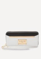 Bebe Goldtone Hardware Wristlet
