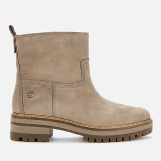 Timberland Women's Courmayeur Valley Faux Fur Boots - Taupe Nubuck