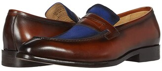 Carrucci Leading Man (Brown/Navy) Men's Shoes