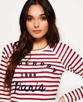 Superdry Applique Raglan Long Sleeve T-shirt