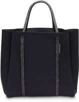 State Of Escape Cityscape Mark II Perforated Tote Bag, Black
