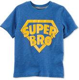 Carter's Super Bro Graphic-Print Cotton T-Shirt, Toddler Boys (2T-5T)