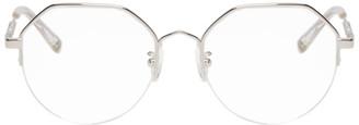 McQ Silver Swallow Hexagonal Glasses