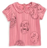 Mini Rodini Infant Girl's Fox Family Tee