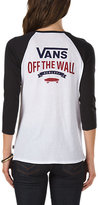Vans Authentic Stack Baseball Tee