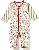 Baby Starters Baby Boys 3-9 Months Sock Monkey Mixed-Printed Footed Coverall
