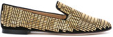 Giuseppe Zanotti Design stud embellished loafers - women - Chamois Leather/Leather/metal - 35
