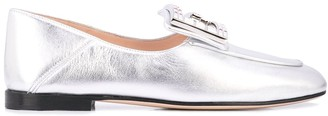 Gucci G applique loafers