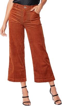 Paige Anessa Corduroy Wide Leg Crop Pants