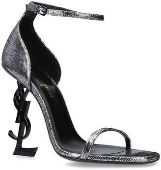 Saint Laurent Metallic Opyum Sandals 110
