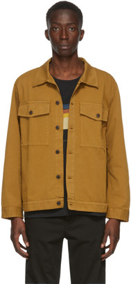 Nudie Jeans Tan Colin Utility Over Shirt