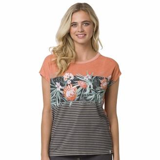 Animal Womens Orange T-Shirt- Ethnique