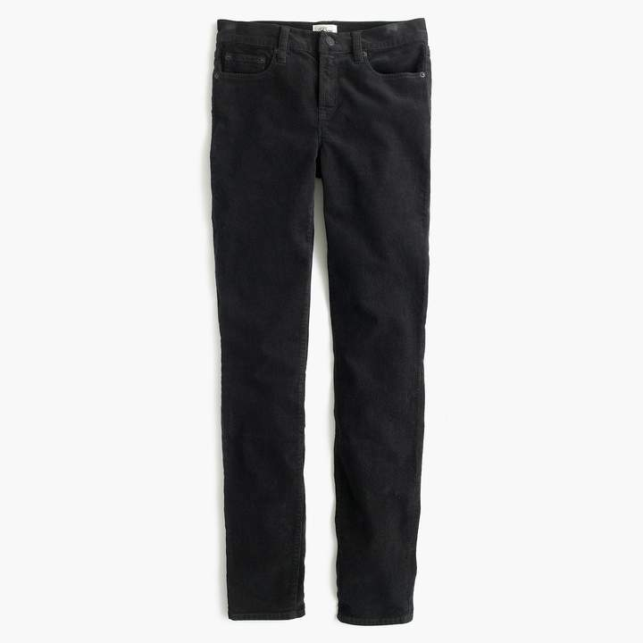 "J.Crew 9"" High-Rise Toothpick Corduroy Pant"