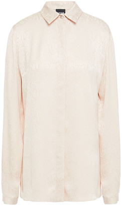 Just Cavalli Satin-jacquard Shirt