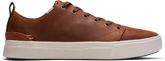 Toms Brown Leather Men's TRVL LITE Low Sneakers