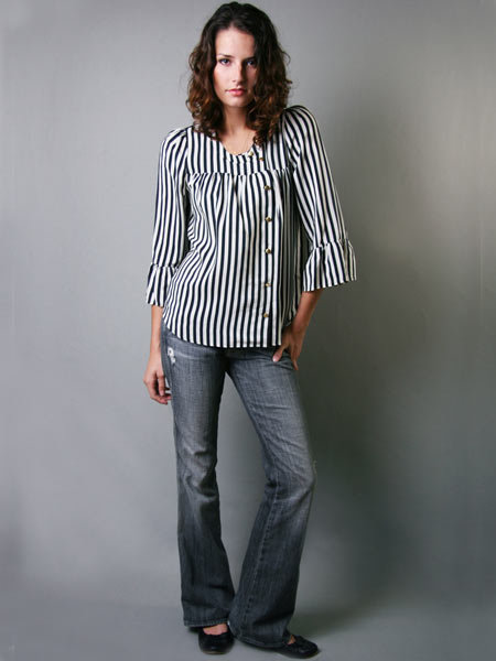 Madison Marcus Stripe Blouse