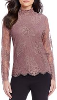 Alex Marie Piper Lace Knit Blouse