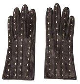 Prada Studded Leather Gloves