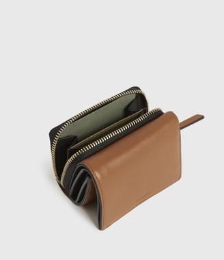 AllSaints Bede Leather Cardholder