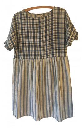 Toast Blue Cotton Dresses