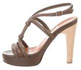 Lanvin Leather Multistrap Sandals