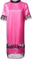 Givenchy lace panel T-shirt dress