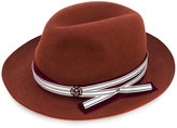 Maison Michel fedora hat - women - Wool Felt - S