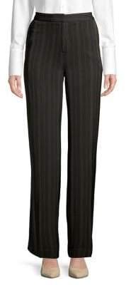 Jones New York Wide-Leg Striped Pants