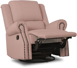 Delta Children Dylan Nursery Recliner Glider Swivel Chair