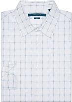 Perry Ellis Slim Fit Broken Check Shirt