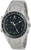 Sartego Men's SPW11 World Timer Quartz Chronograph Watch