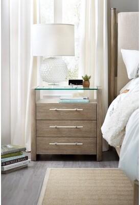 Hooker Furniture Affinity 3 Drawer Nightstand