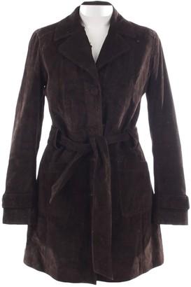 Oakwood Brown Leather Jacket for Women