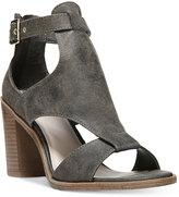 Fergalicious Marquette Block-Heel Sandals