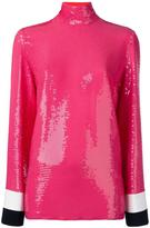 Emilio Pucci sequin embellished top