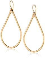 Nashelle Hammered 14k Gold-Filled Teardrop Earrings