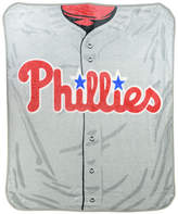 Northwest Company Philadelphia Phillies Plush Jersey Throw Blanket