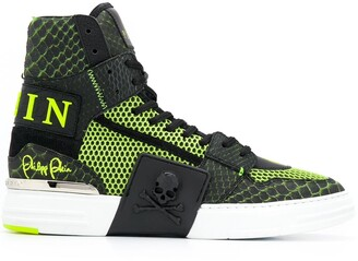 Philipp Plein high top Phantom Kick$ sneakers