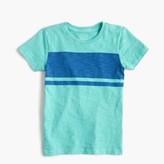 J.Crew Boys' garment-dyed striped T-shirt