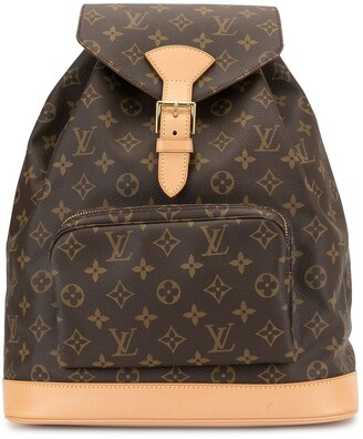 Louis Vuitton Pre Owned 1997 Montsouris GM backpack