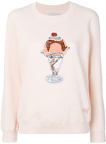 Coach sequinned sunday slim-fit sweatshirt - women - Cotton - S