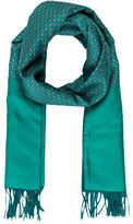 Hermes Cashmere Wool Scarf