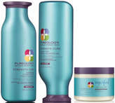 Pureology Strength Cure color Care Shampoo, Conditioner and Superfood Treatment Trio